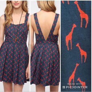 Urban Outfitters Cooperative Giraffe Print Dress12